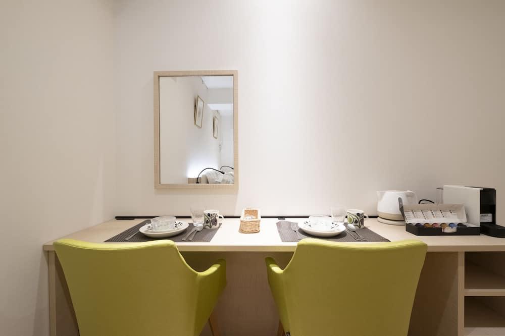 ซูพีเรียอพาร์ทเมนท์, เตียงใหญ่ 1 เตียง, ปลอดบุหรี่, วิวเมือง (A, 2F) - บริการอาหารในห้องพัก