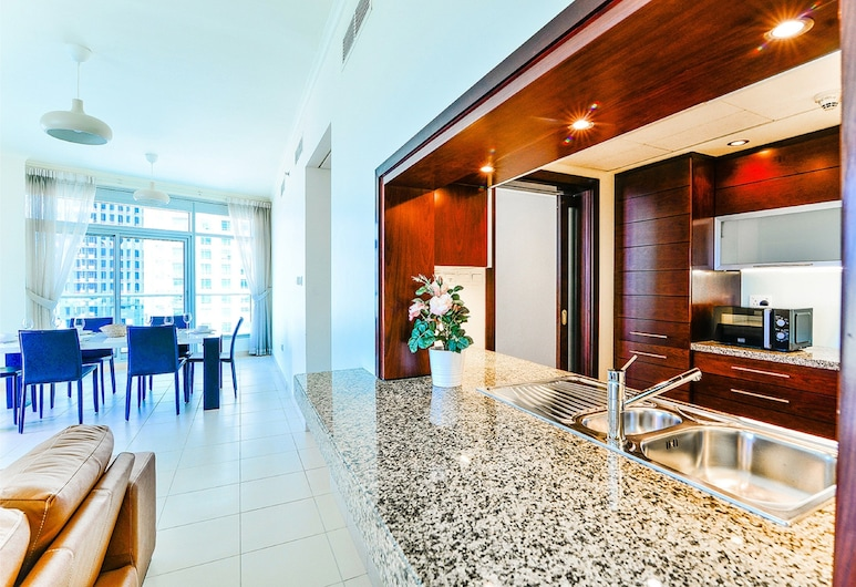 Mayfair - Ease by Emaar Two Bedroom, Dubai, Deluxe Apartment, City View, Living Area