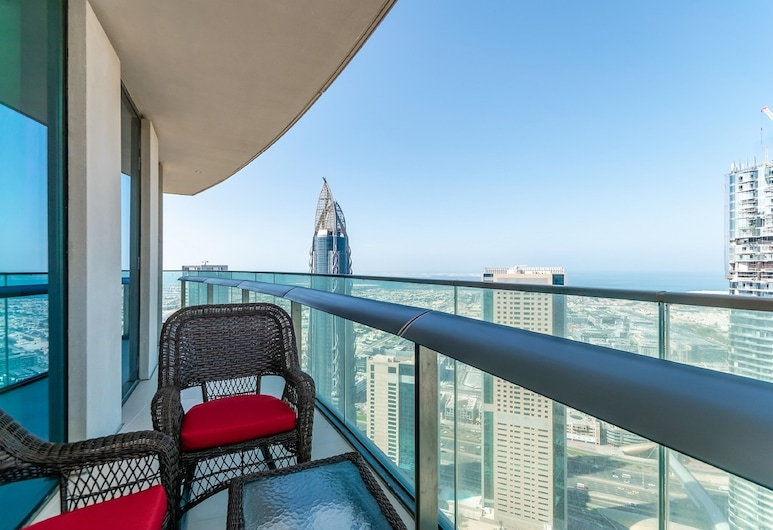 Burj Vista Tower Ease by Emaar, Dubai, Oceanic Two Bedroom apartment Ocean View , Balcony
