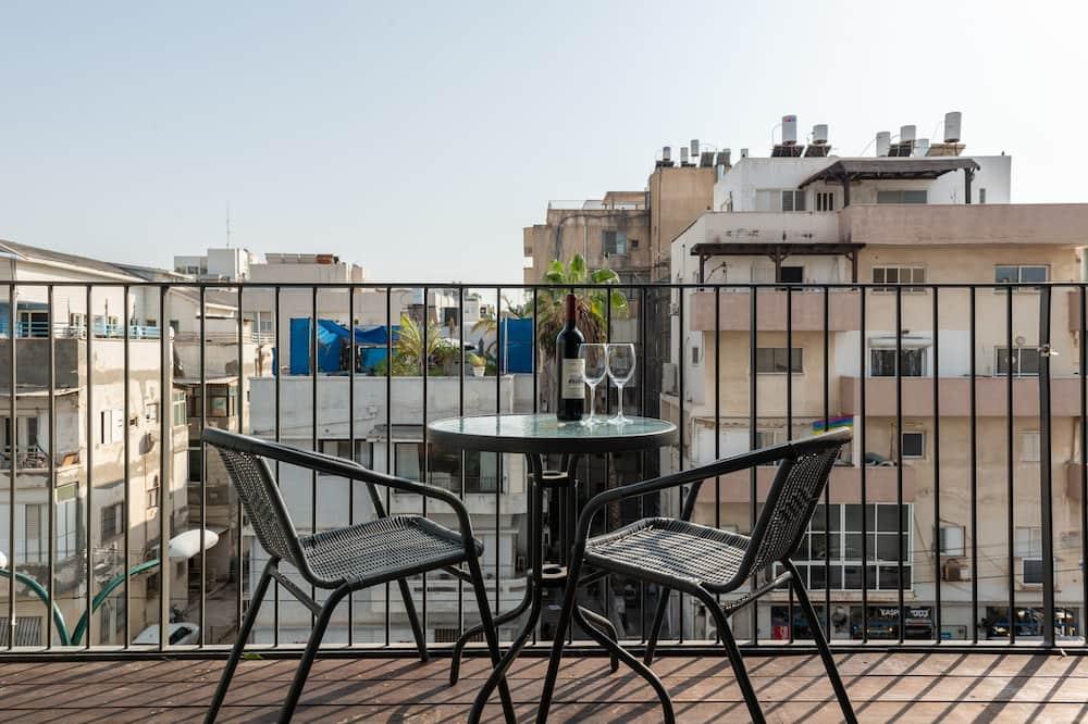 Apartamento Deluxe, 2 Quartos - Varanda
