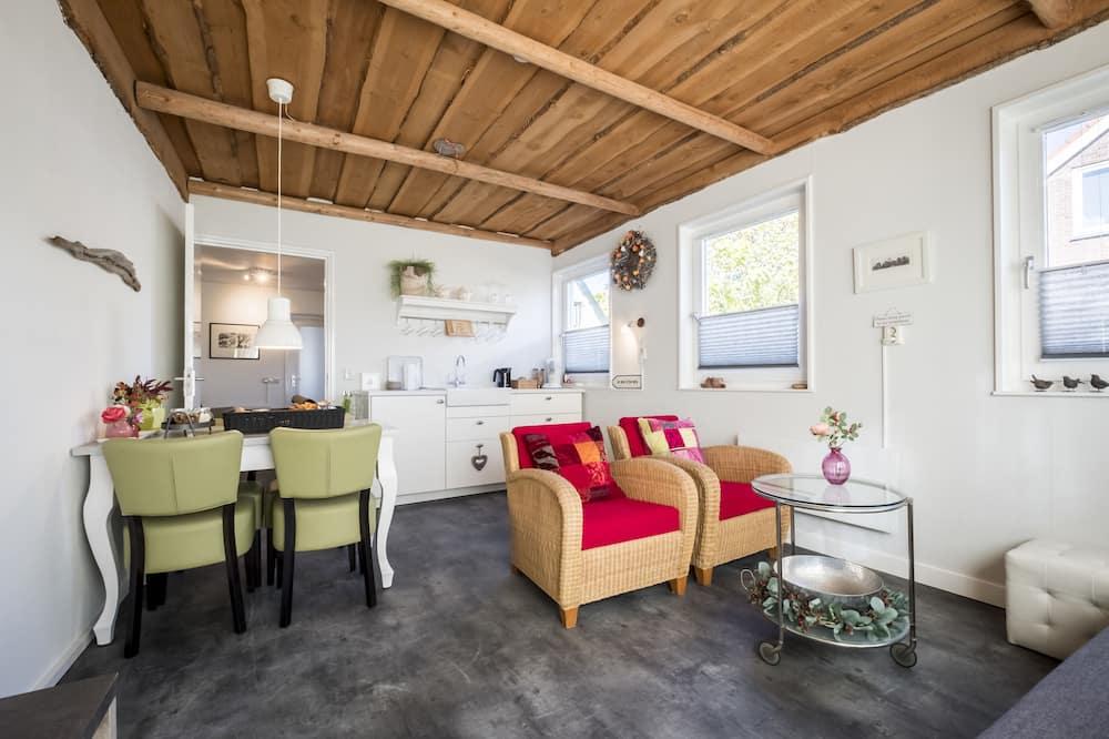 Departamento familiar, 1 habitación, cocina - Sala de estar