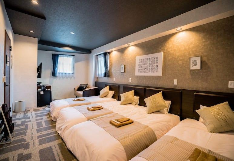 Residential Hotel IKIDANE Asakusabashi, Tokyo, Suite Room 201, Room