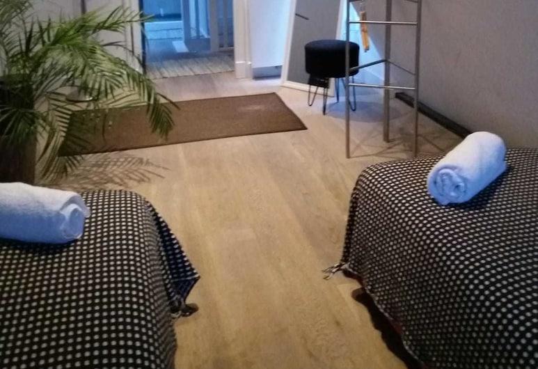 레지던스 86, 암스테르담, 트윈룸, 공용 욕실, 객실