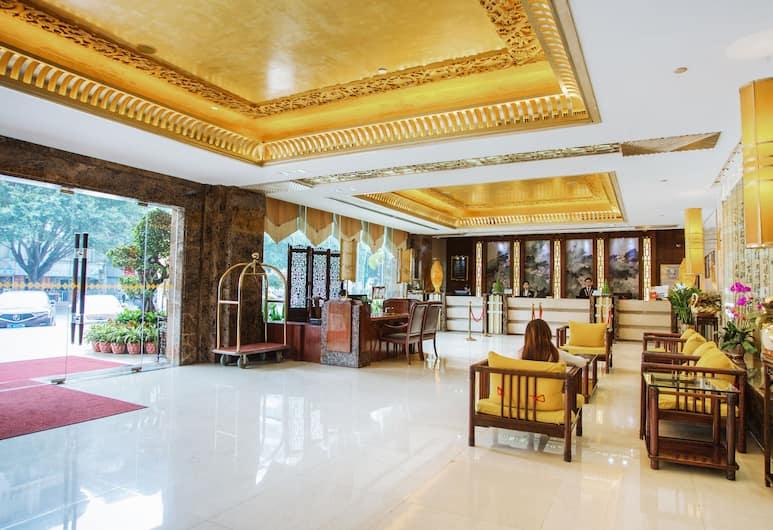 Shenzhen Bossfield Hotel, Shenzhen, Вестибюль