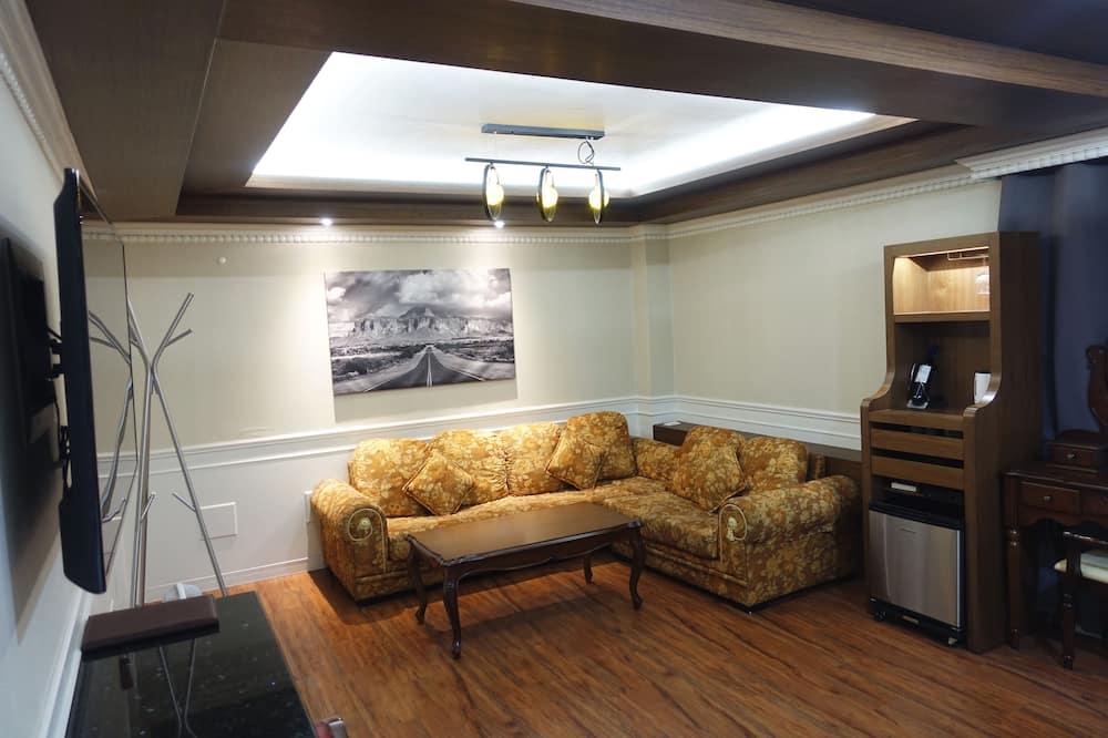 Augstākās klases numurs - Dzīvojamā istaba
