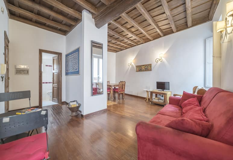 Quirinale Apartments, Rome, Apartment, 2 Bedrooms, Living Area