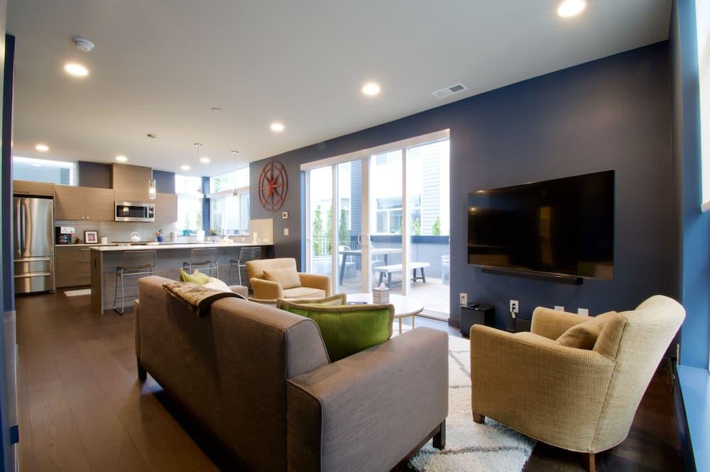 Mestský dom, viacero postelí, nefajčiarska izba - Obývacie priestory