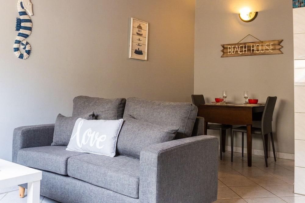 Basic Apartment, 1 Queen Bed (Comfort Apartment #3) - Living Room