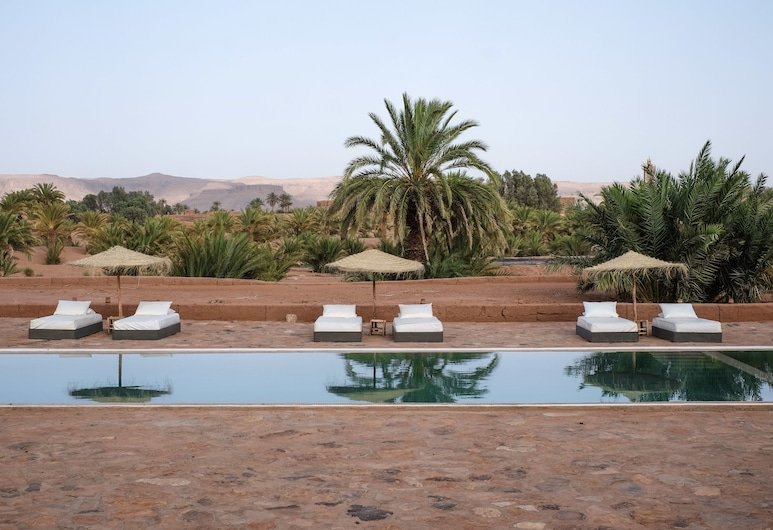 Kasbah Ait Isfoul, Tagounite, Pool
