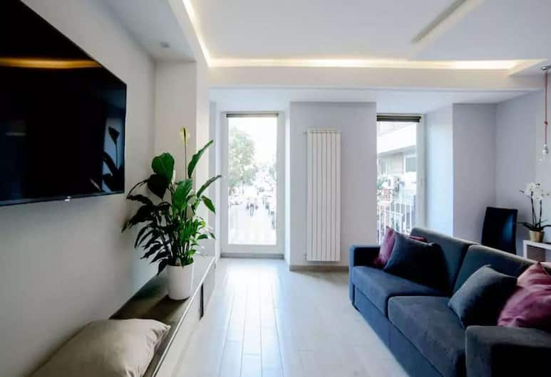 Riviera Luxury Suites B&B, Νάπολη, Junior Σουίτα, Καθιστικό