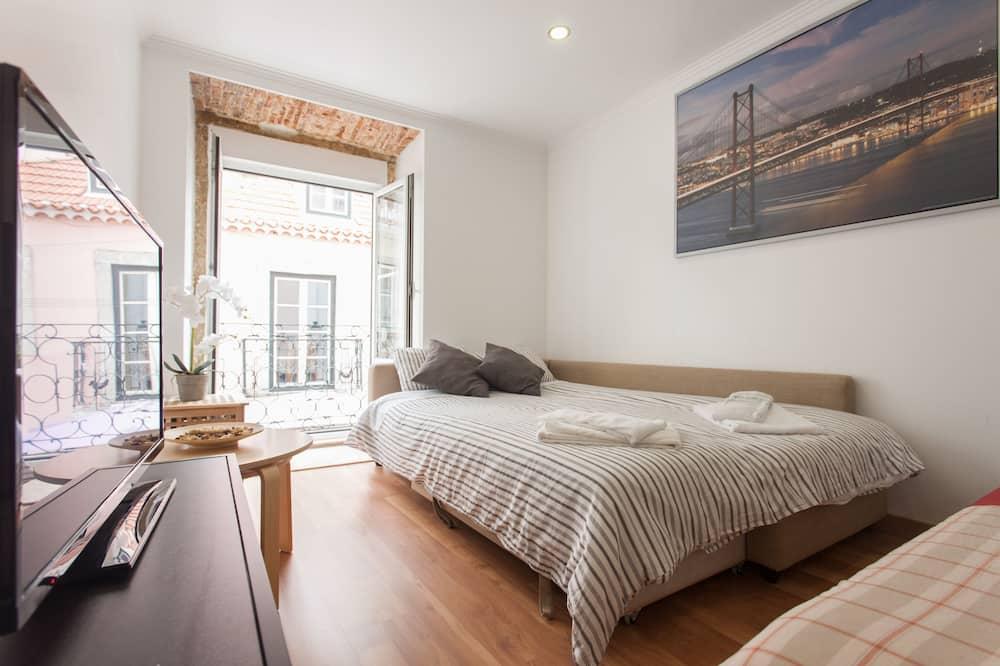 Apartmán, 1 ložnice (1E) - Obývací pokoj