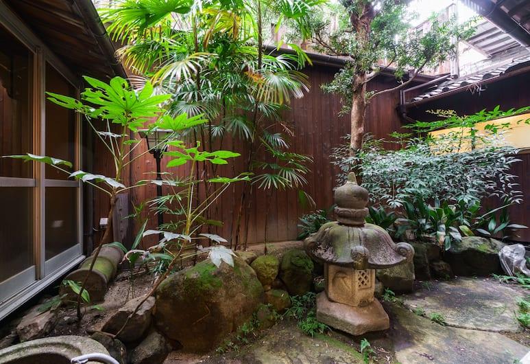 野田古民家ハウス, 大阪市, 庭園