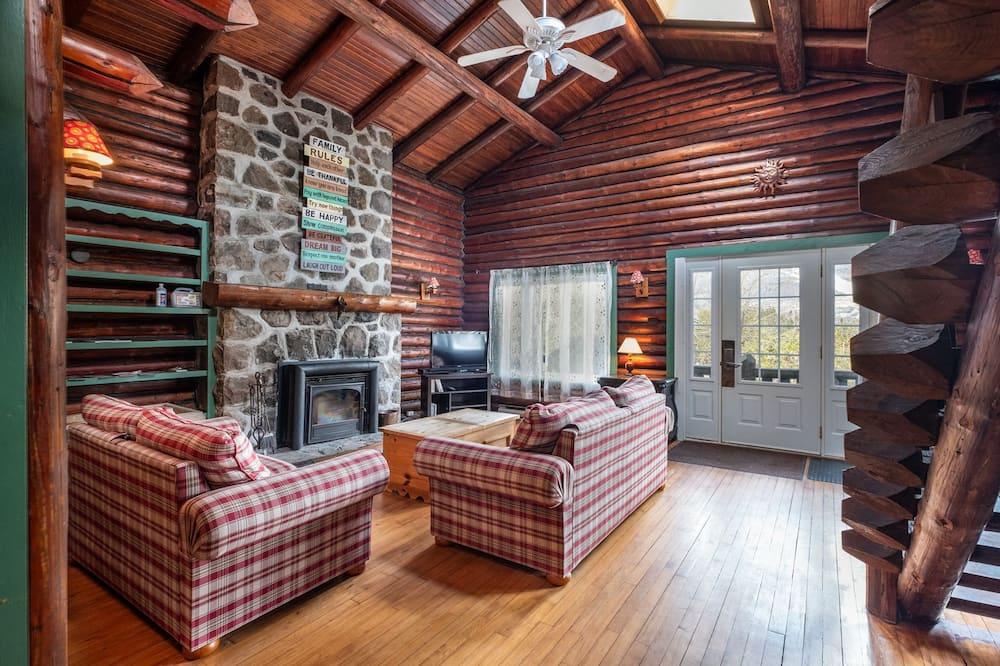 Nhà gỗ truyền thống, Nhiều giường, Không hút thuốc - Phòng khách