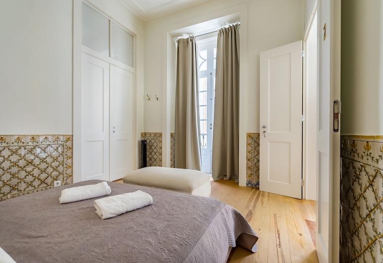 Santa Justa Prime Guesthouse, Lisszabon, Szoba kétszemélyes ággyal, közös fürdőszoba (Premium), Vendégszoba kilátása