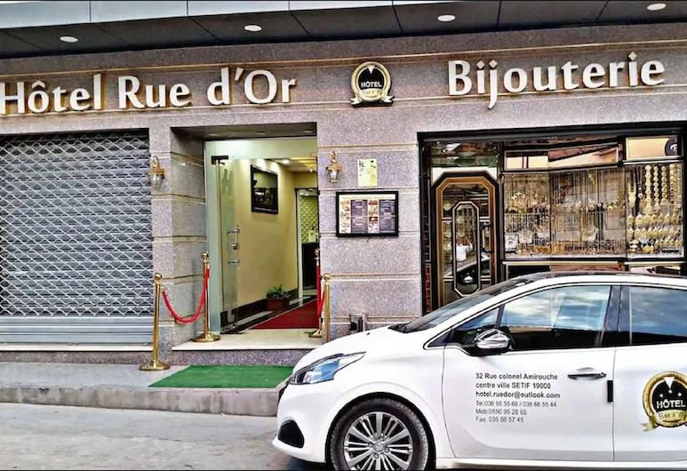Hôtel Rue d'Or, Setif, Hotellin sisäänkäynti