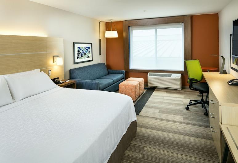 Holiday Inn Express & Suites Medford, מדפורד, סוויטה, מיטת קינג, ללא עישון, חדר אורחים