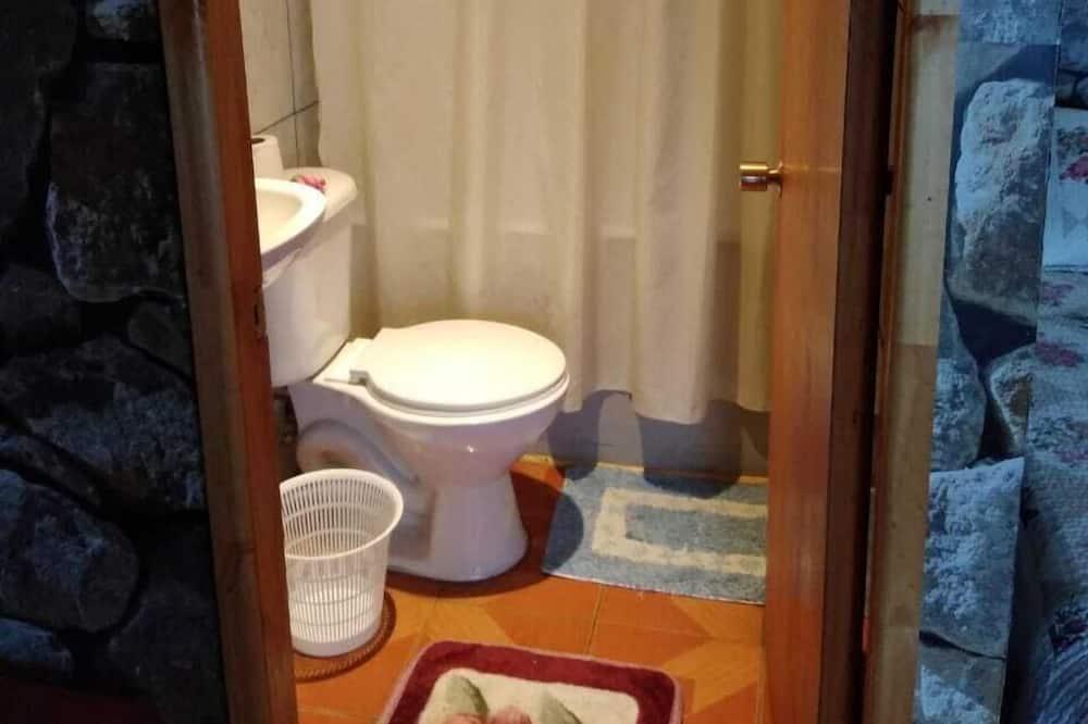 Værelse til 3 personer - 3 enkeltsenge - ikke-ryger - Badeværelse