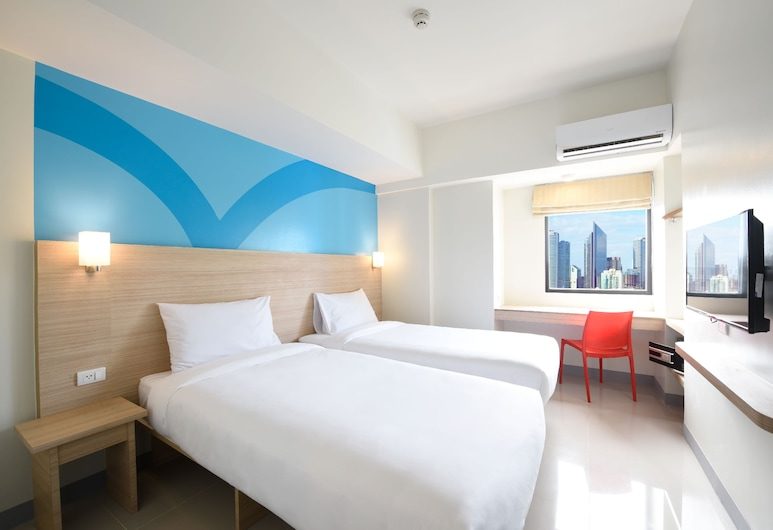 Hop Inn Hotel Tomas Morato Quezon City, Quezon City, Standard Twin Room, Guest Room