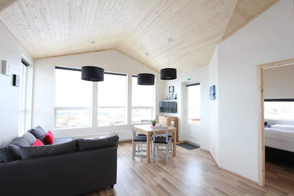Ferienhütte, 2Schlafzimmer - Wohnbereich