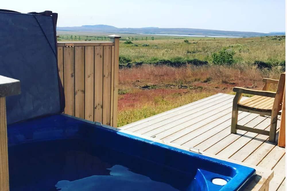Ferienhütte, 1 Schlafzimmer - Außen-Whirlpool