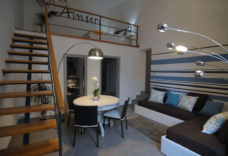 Ciuri e Amuri Palermo Suites, Palermo, Alloggio Comfort su due livelli (Amuri), Soggiorno