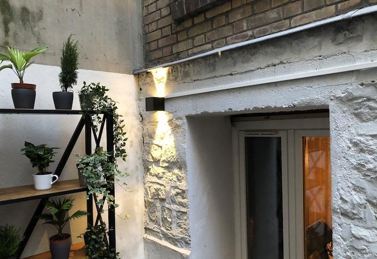Gutenberg Studio Deluxe, Paris, Appartement Deluxe, 1 grand lit et 1 canapé-lit, non-fumeurs, Terrasse/Patio