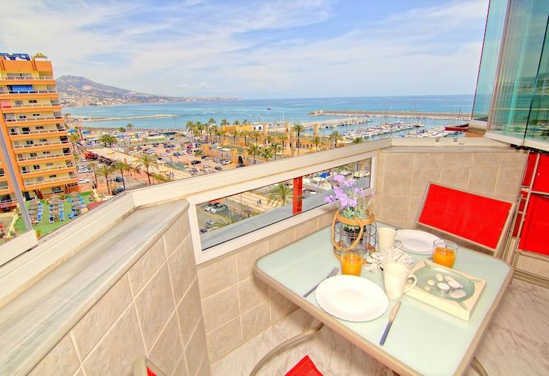 HTL10-Vistamar, Fuengirola, Studio - 1 dubbelsäng med bäddsoffa (Apartamento 623), Utsikt mot havet/stranden