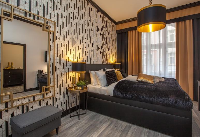 Golden Prague Rooms, Praga, Quarto triplo luxo, Quarto