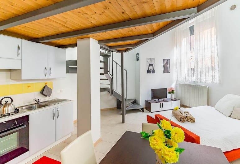 Alessia's Flat Portello 3, Milano, Appartamento, 1 camera da letto, Area soggiorno