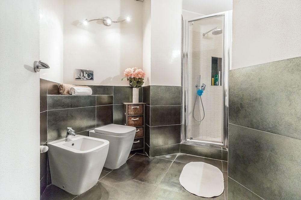 Alloggio su due livelli, 2 camere da letto (Porta Romana M3) - Bagno