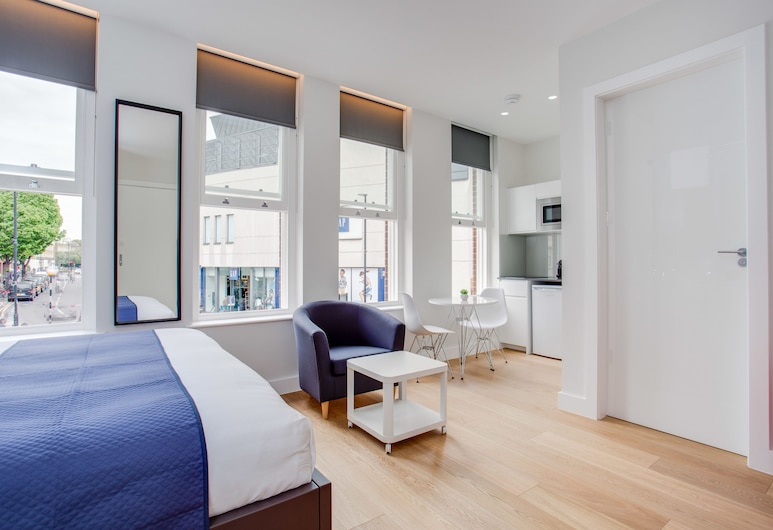 Chapel Market Serviced Apartments, Londýn, Standardní pokoj s dvojlůžkem, dvojlůžko, nekuřácký, Pokoj