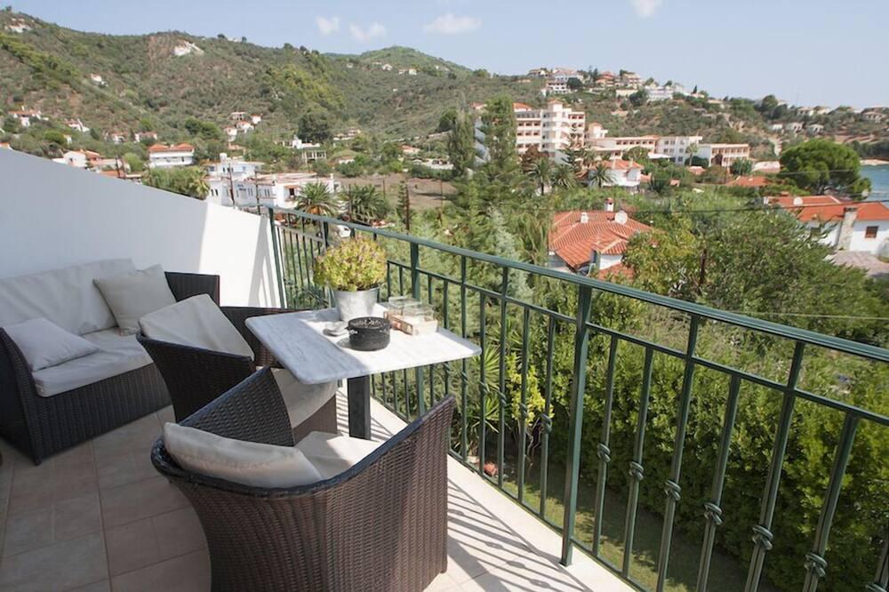舒適開放式客房, 1 張標準雙人床, 吸煙房 - 陽台景觀