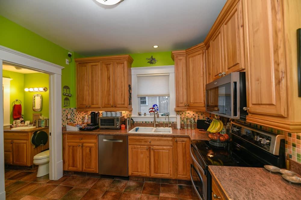 Deluxe eenpersoonskamer, niet-roken (Bedroom 2) - Gemeenschappelijke keuken
