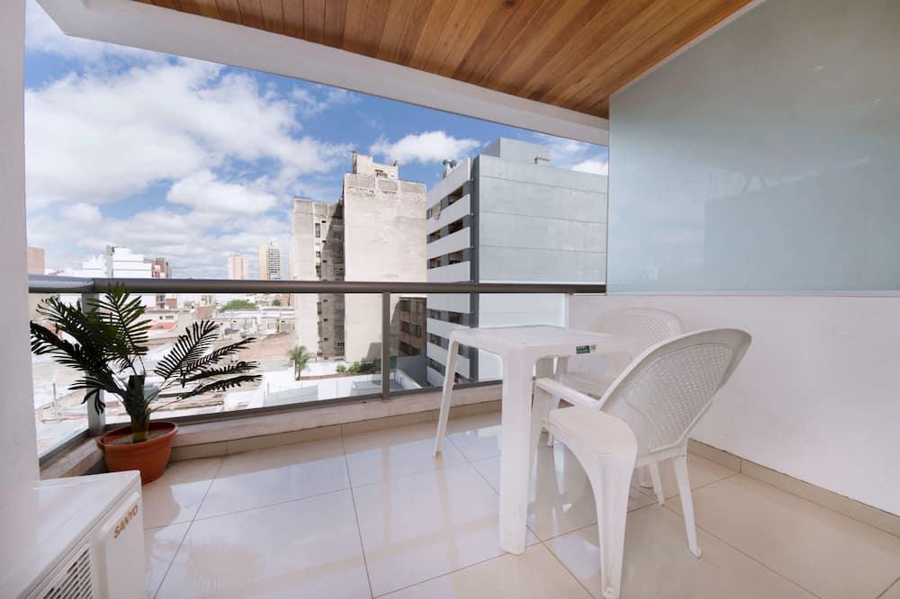 公寓, 1 张大床和 1 张沙发床, 无烟房, 城市景观 - 阳台