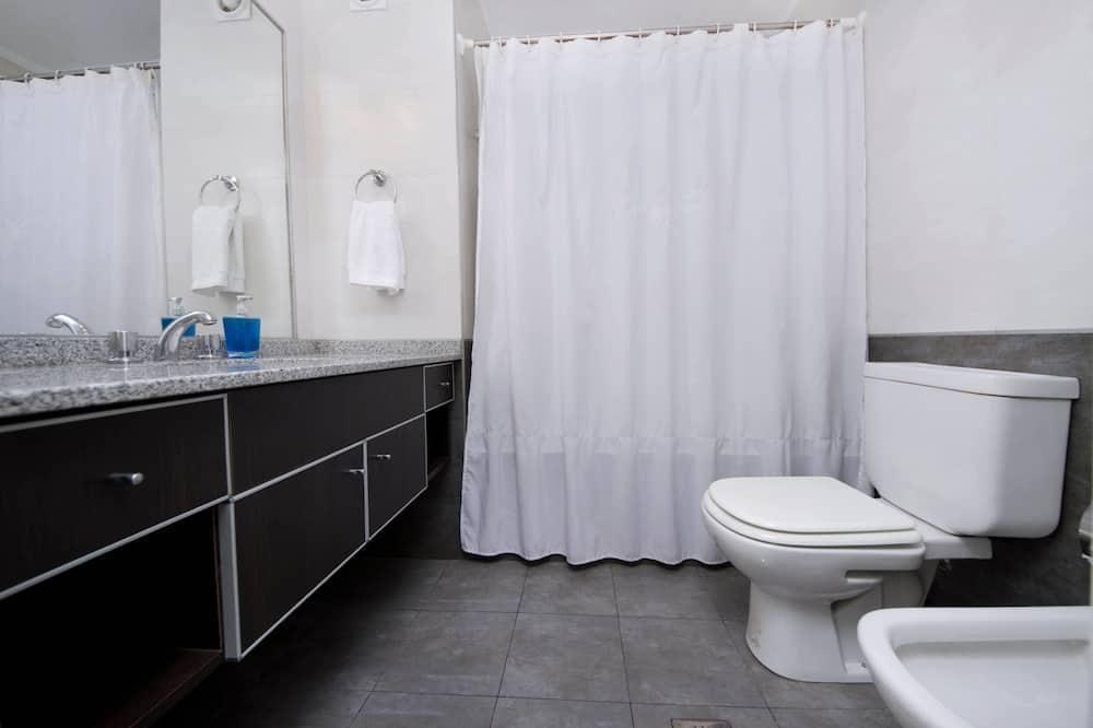 公寓, 1 张大床和 1 张沙发床, 无烟房, 城市景观 - 浴室