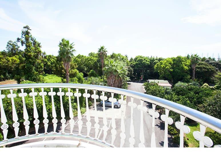 綠畔旅館, 西歸浦, 公寓客房 (15 PY), 陽台