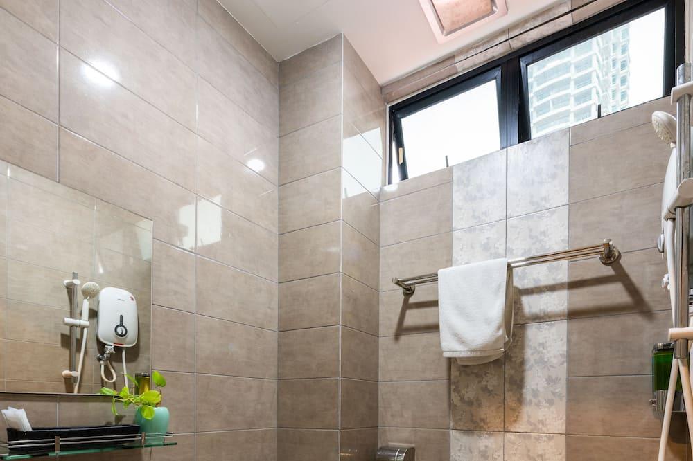 Izba typu Deluxe, 1 veľké dvojlôžko, nefajčiarska izba - Kúpeľňa
