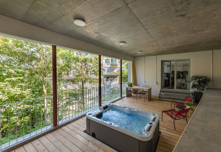 TouchBed City Apartments St. Gallen, St. Gallen, Terrass