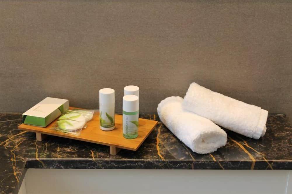 Chambre Simple, 1 lit une place, non-fumeurs - Salle de bain