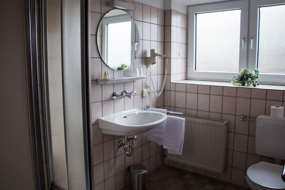 Herbergi með tvíbreiðu rúmi (Sofabed) - Baðherbergi