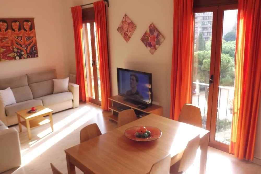 公寓, 2 間臥室, 城市景 - 客廳