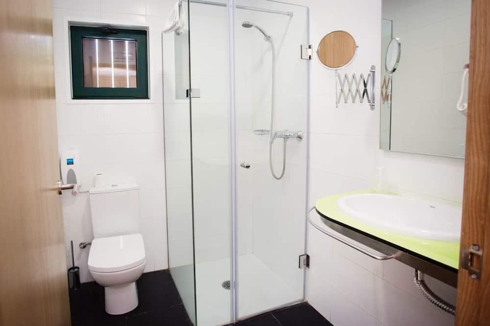Dvoulůžkový pokoj pro 1 osobu, soukromá koupelna - Koupelna