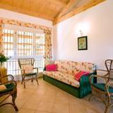 アパートメント 2 ベッドルーム 2 バスルーム ガーデンビュー (Airone) - リビング エリア