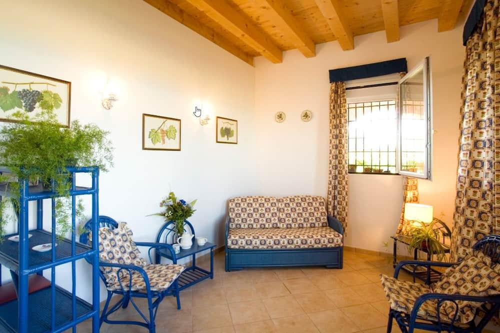 アパートメント 2 ベッドルーム 2 バスルーム ガーデンビュー (Cormorano) - リビング エリア