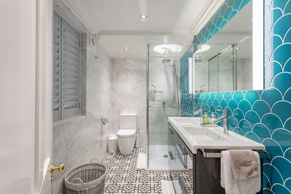 Luxe appartement, en-suite badkamer, Uitzicht op de binnenplaats (Beaches Brighton) - Badkamer