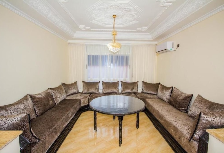 Appart Hotel Excellent, Nador, Family Apart Daire, 2 Yatak Odası, Sigara İçilmez, Oturma Alanı