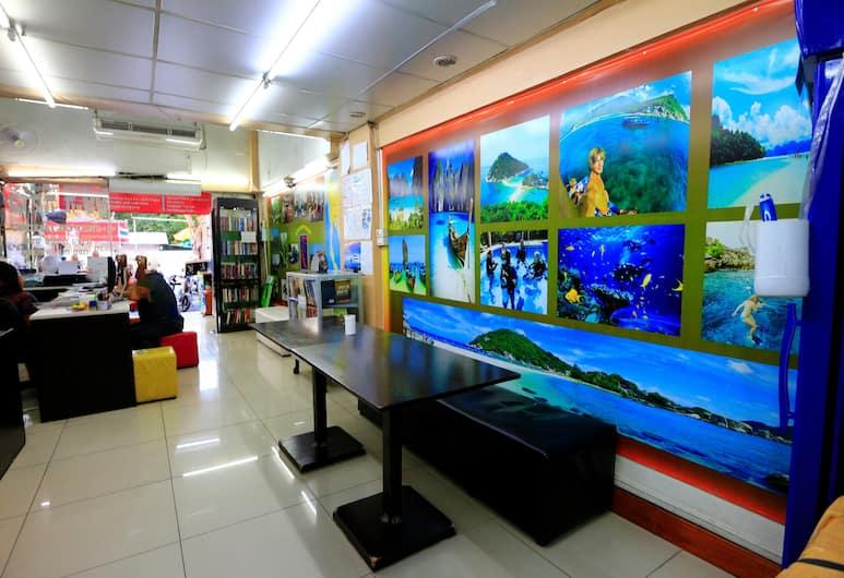巴達卡 99 青年旅舍, 曼谷, 大堂閒坐區