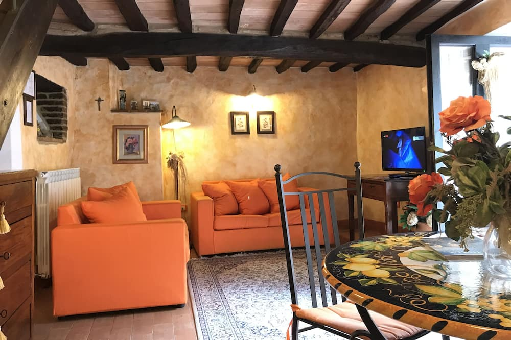 Appartement Duplex Classique (Girasoli) - Coin séjour