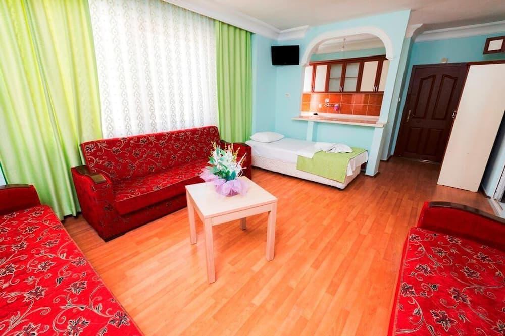 家庭公寓, 1 间卧室 - 起居区