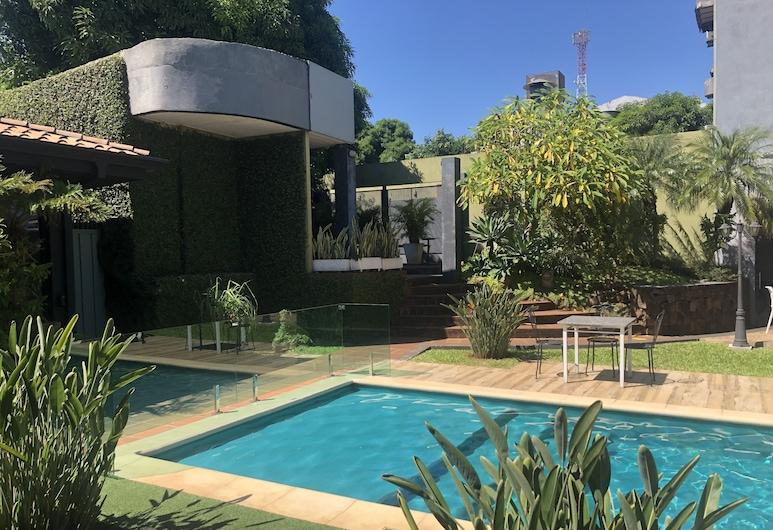 Milord Hotel Boutique, Encarnación, Jardin